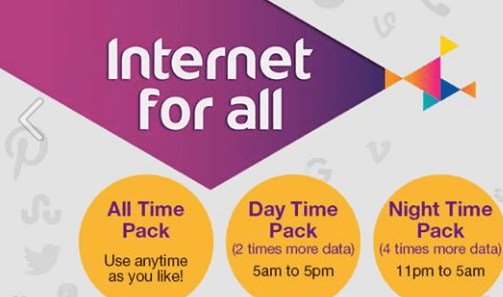 Ncell's all new 30-day Internet packs