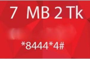 Robi 7MB 2Tk Offer