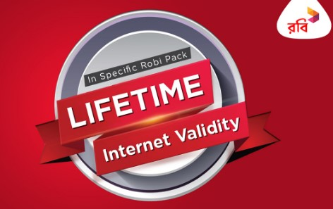 Robi Unlimited Validity Internet Package