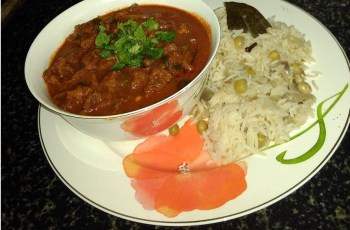Aromatic beef curry
