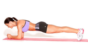Plank-on-elbows