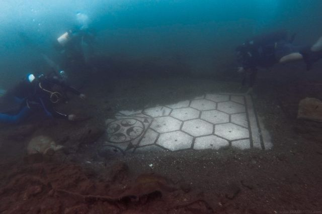 underwater city of Baiae