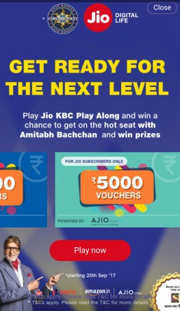 KBC Play Along