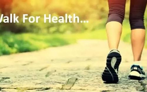walking for good health