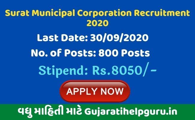 Surat Municipal Corporation Recruitment