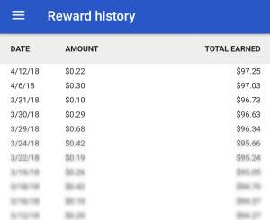 $100 Total Earned