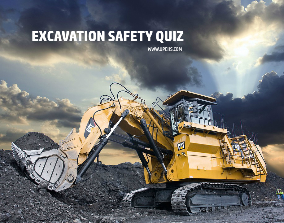 excavation safety quiz