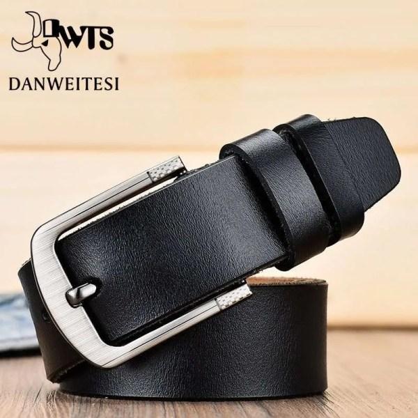 Men's Genuine Cowhide Leather Belt 2