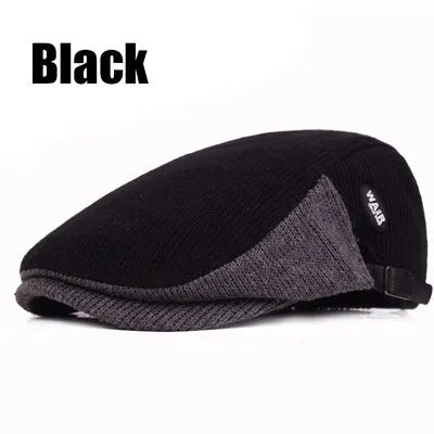 New Fashion Casual Autumn Sports Berets Caps For Men and Women 10