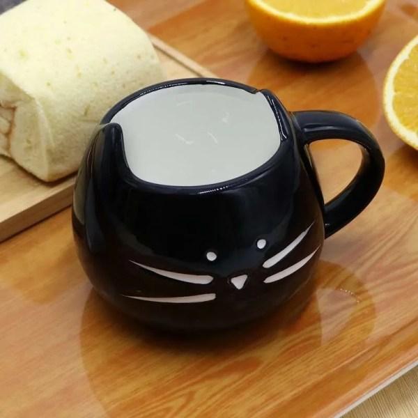 Ceramic Cute Cat Mug in 400 ml 5