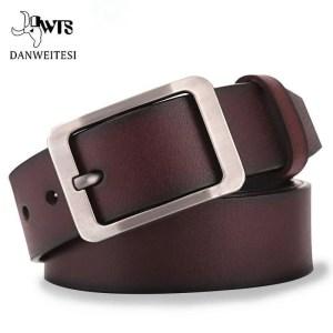 Genuine Cowskin Leather Belts for Men