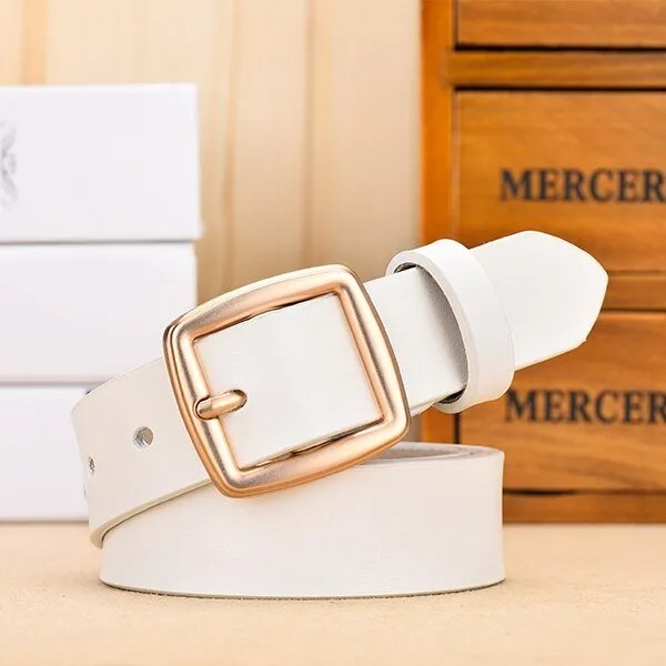 Fashion Women Belt Genuine Leather for Jeans 8