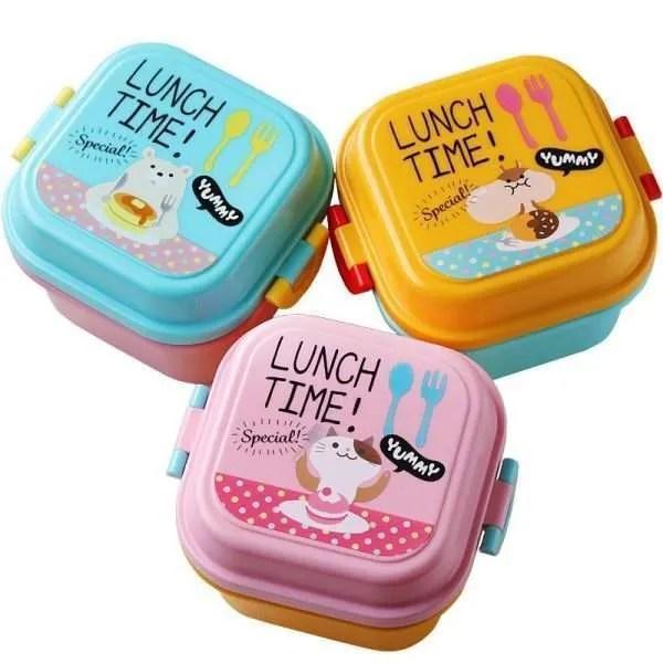 Children Cartoon Style Lunch Box
