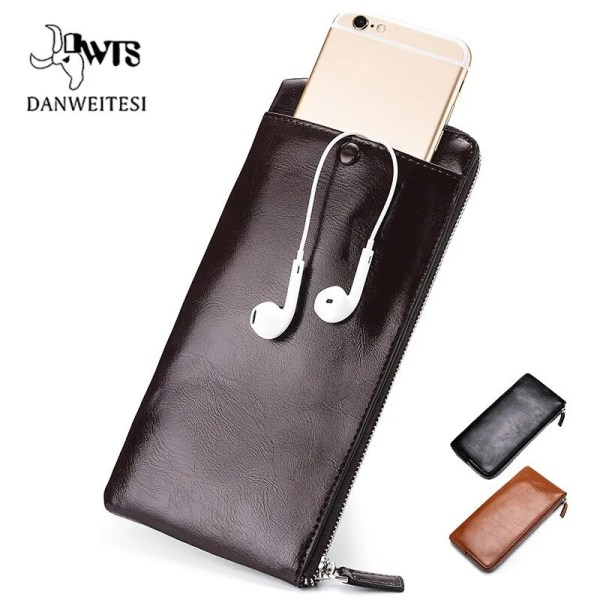 Men's Luxury High Quality Leather Wallet with Card Holder 1