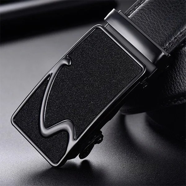 Men Luxury Leather Belt with Automatic Buckle 20