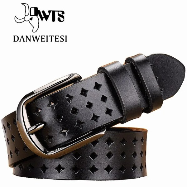 Women Genuine Leather Quality Alloy Fashion Belt for Women 1