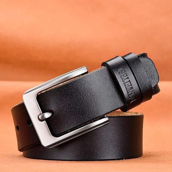 Men's Genuine Cowhide Leather Belt 12