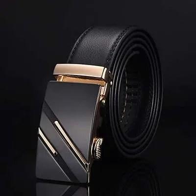 Men Top Quality Genuine Leather Belt 7