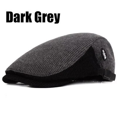 New Fashion Casual Autumn Sports Berets Caps For Men and Women 9