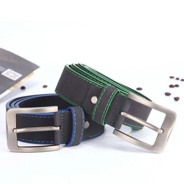 2019 Fashion Leather Belt for Men Italian Design 2