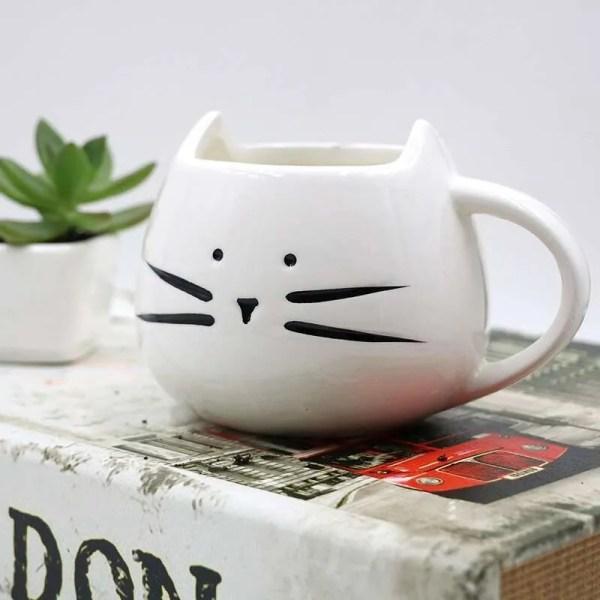 Ceramic Cute Cat Mug in 400 ml 4
