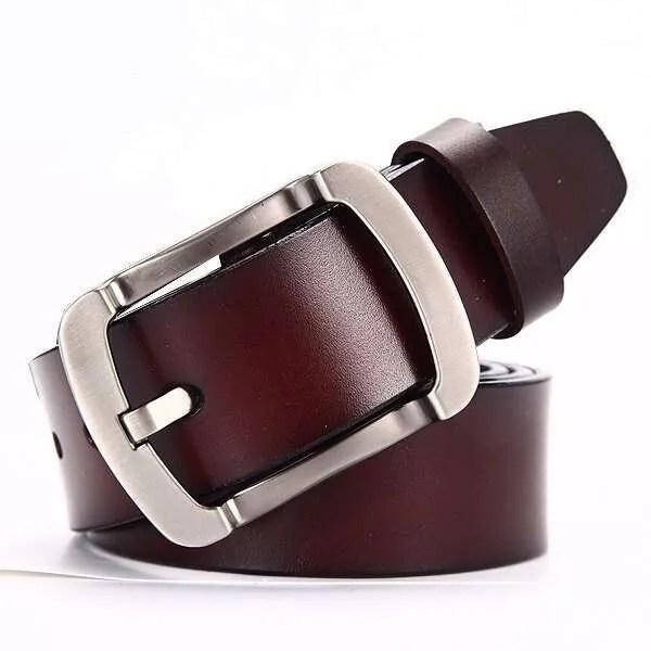 Genuine Cowskin Leather Belts for Men 16