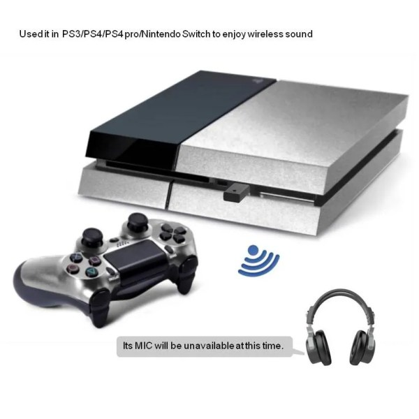 Bluetooth 5.0 Audio Transmitter for PS4 PC 4