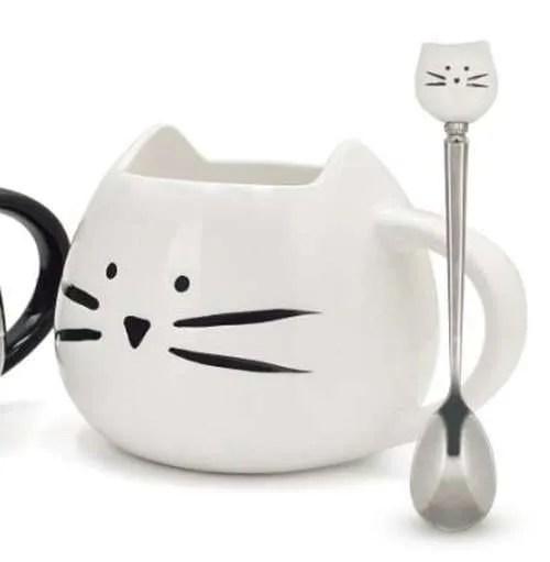 Ceramic Cute Cat Mug in 400 ml 7