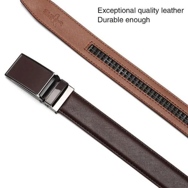 Genuine Leather Men Strap Luxury Belt 2