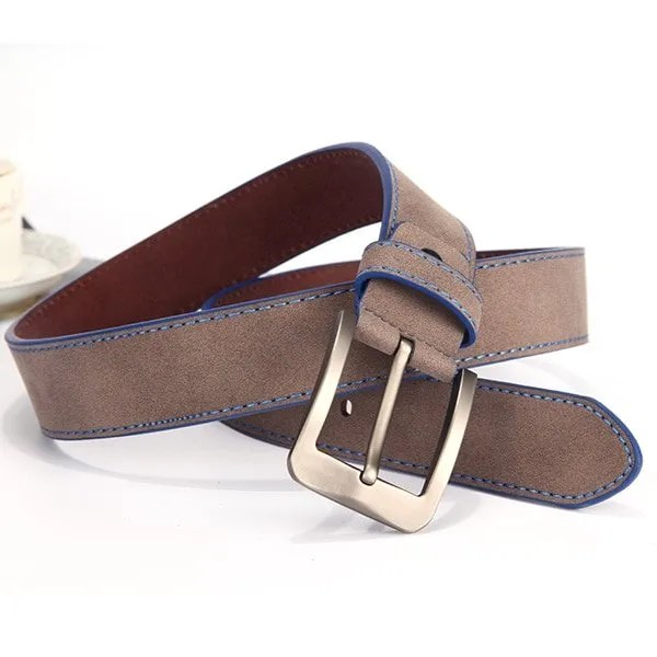 2019 Fashion Leather Belt for Men Italian Design 6