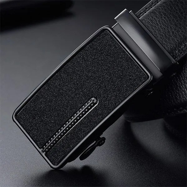 Men Luxury Leather Belt with Automatic Buckle 15