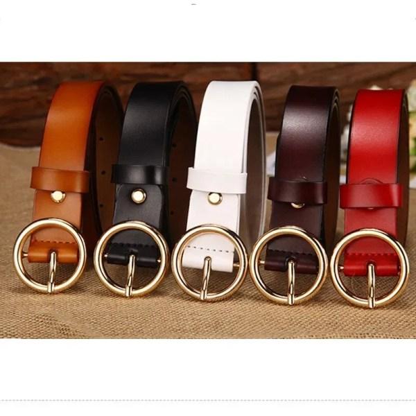 Designer Leather Belt for Women 11