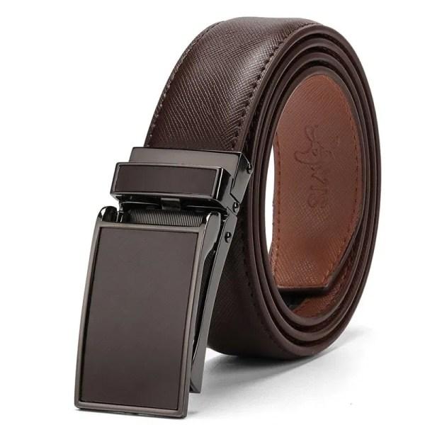 Genuine Leather Men Strap Luxury Belt 1