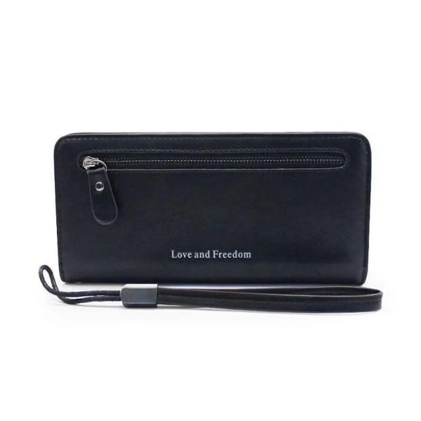 Women Fashion PU Leather Long Wallet 10