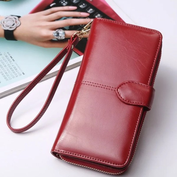Wallet Best 2019 Women Coin Purse Long Leather Wallet 1