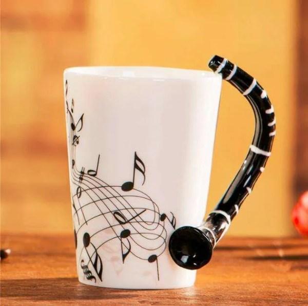 Musical Instruments Style Novelty Ceramic Mugs 18