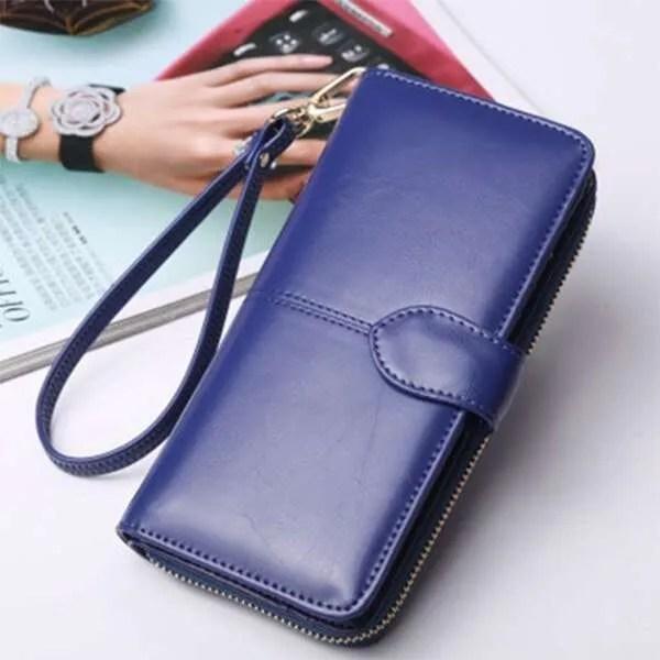 Wallet Best 2019 Women Coin Purse Long Leather Wallet 9