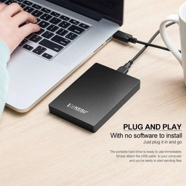 SATA HDD External Hard Drive 4
