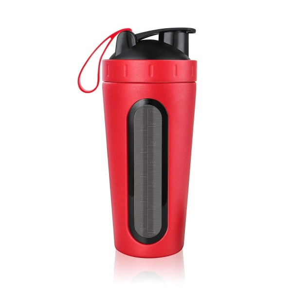 Durable Stainless Steel 700 ml Protein Shaker Water Bottle 8