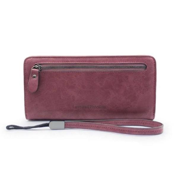 Women Fashion PU Leather Long Wallet 9