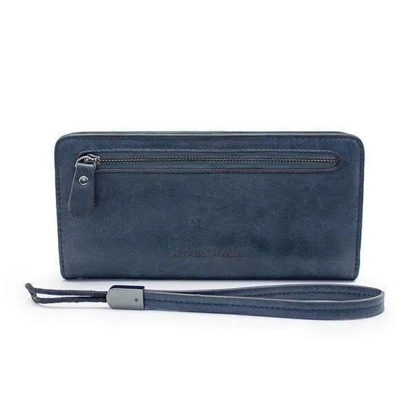 Women Fashion PU Leather Long Wallet 11
