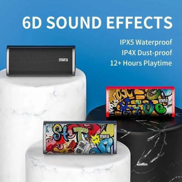 Bluetooth Portable Wireless 10W Loudspeaker Sound System 3