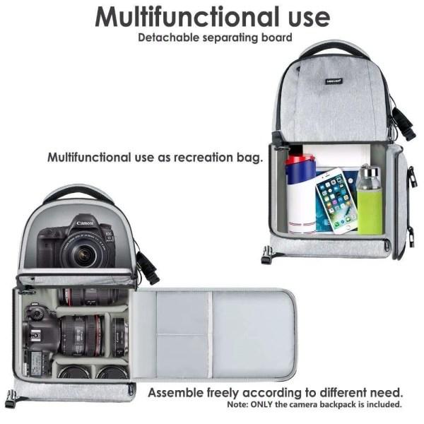 DSLR Sling Camera Backpack Bag 5