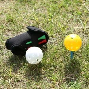 Mini Portable Golf Ball Holder Bag