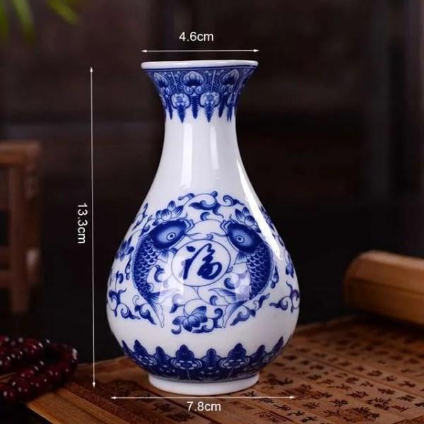 Vintage Home Decor Ceramic Flower Vase