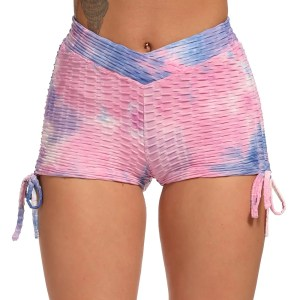 Multi Colored Breathable Workout Gym Shorts
