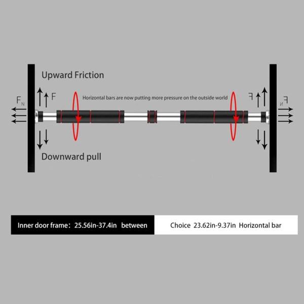 Horizontal Bar Indoor Doorway Pull-Ups Fitness Equipment 7