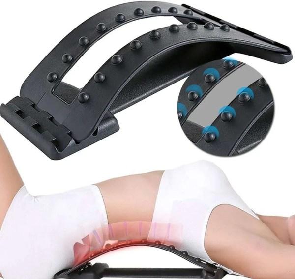 Adjustable Lumbar Traction Back Stretcher 1