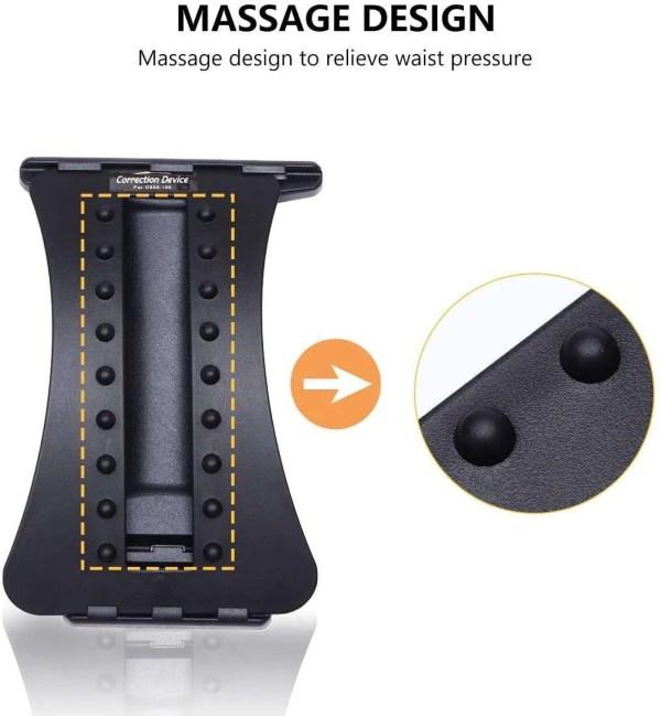 Adjustable Lumbar Traction Back Stretcher
