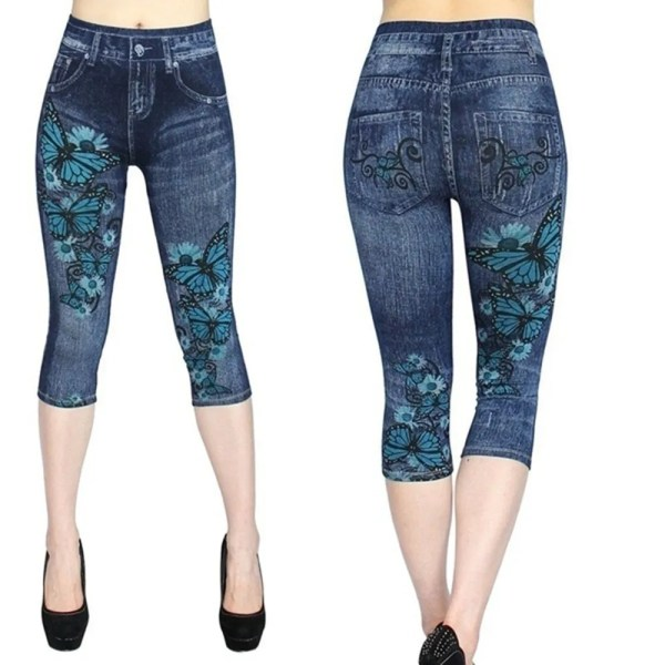 Women Summer Leggings Jeans Style 13